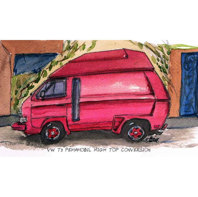 vw T3 pemamobil aqua