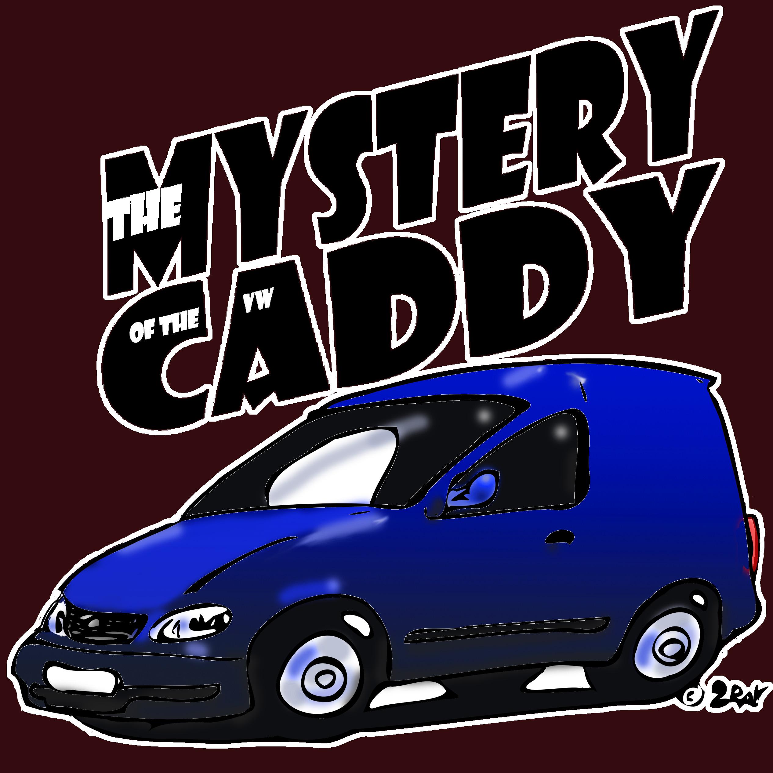 mystery caddy color brillant Tshirt