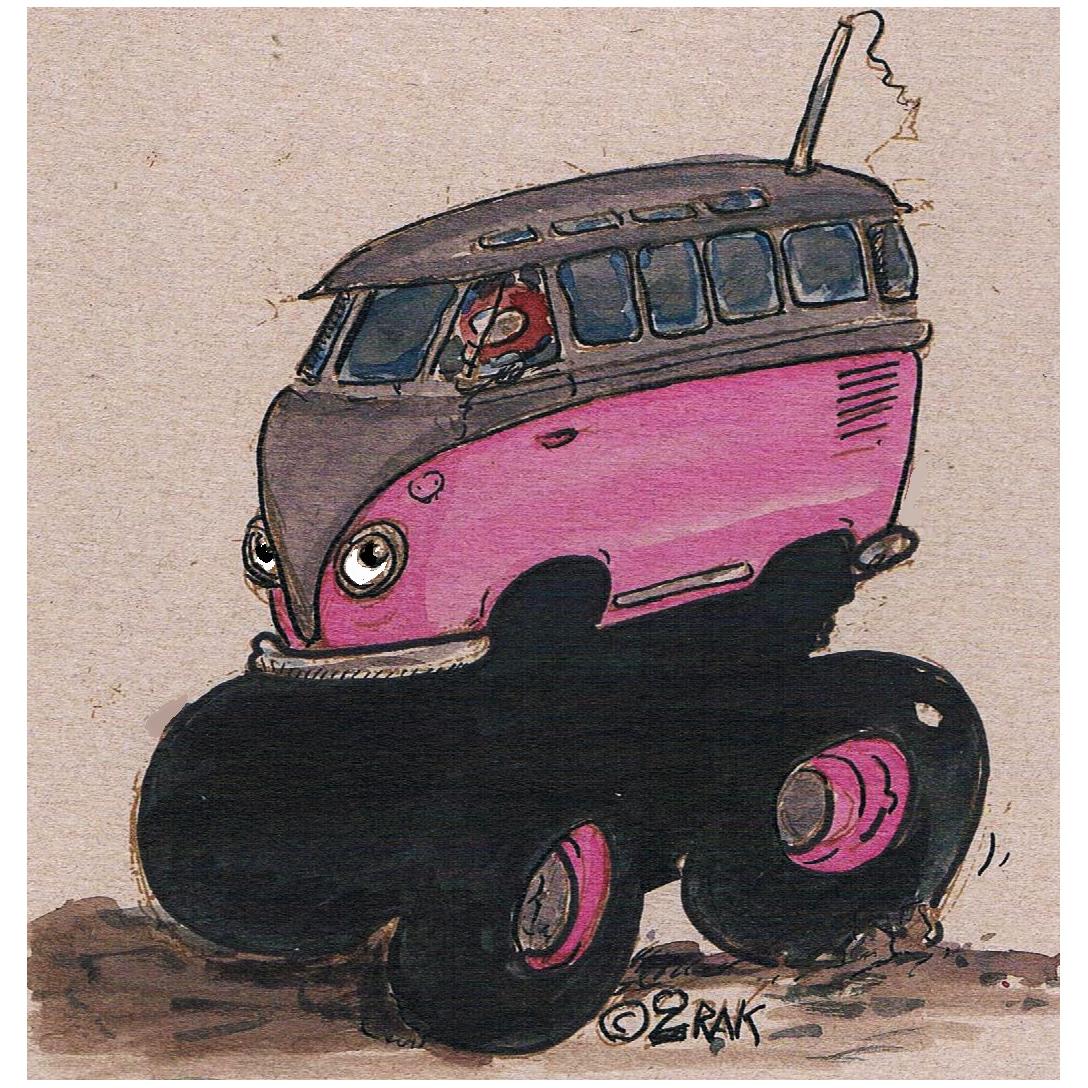 wheelies tamiya vwcampervan color