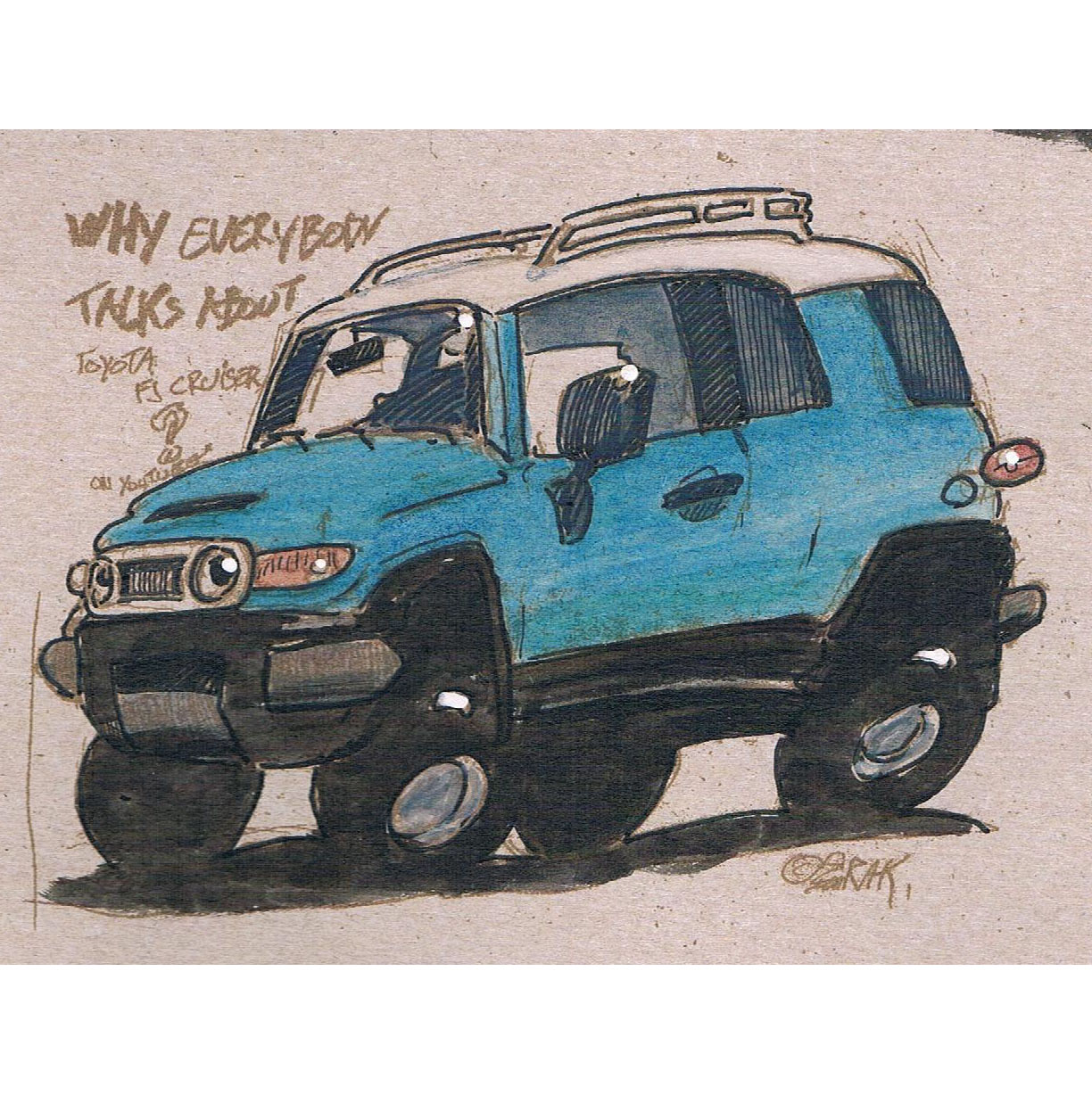 fj cruiser color