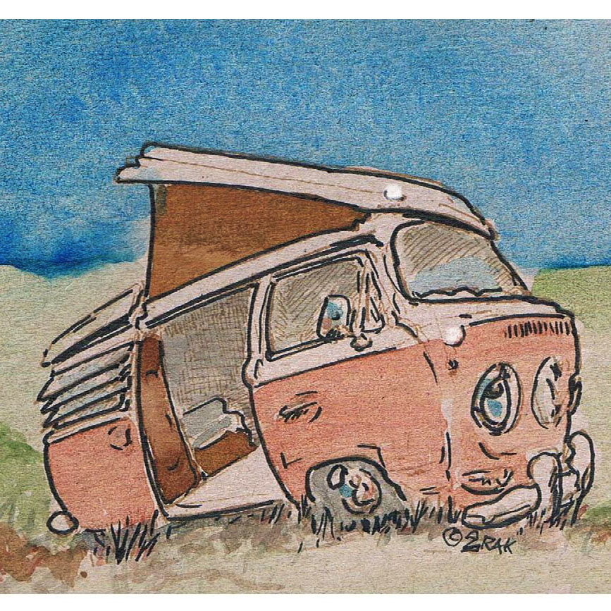 lazy watercolor aircooled