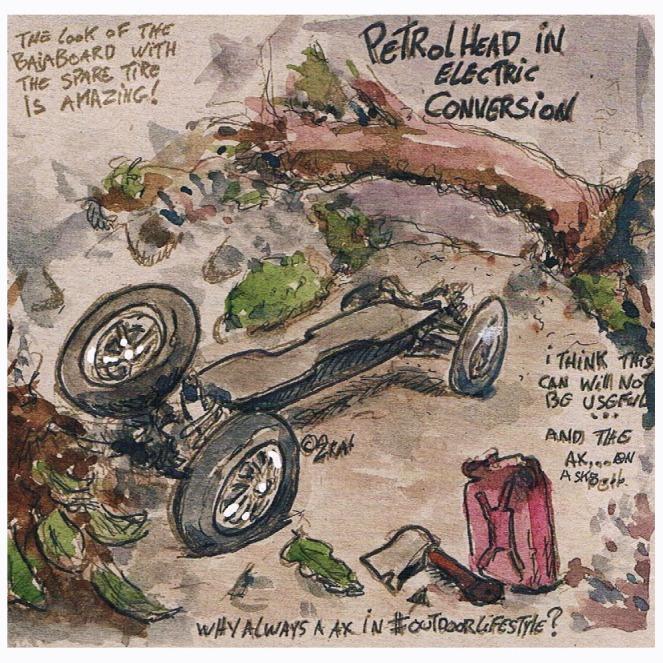 bajaboard spare tyre color insta